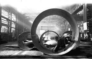 Советское фото: В. Егоров. Завод. 1960-е