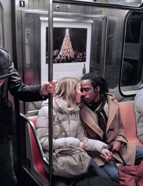 Фотосессия: Нью-йоркские поцелуи