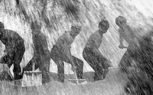Советское фото: В. Лагранж. Страда. 1973